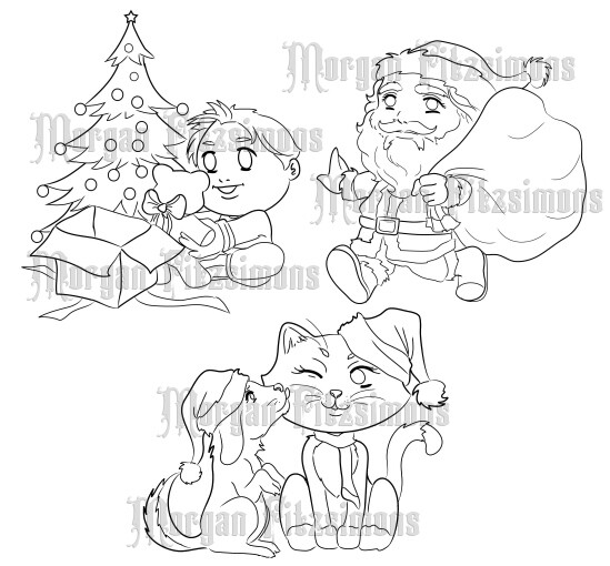 Winter Bundle 3 - Digital Stamp
