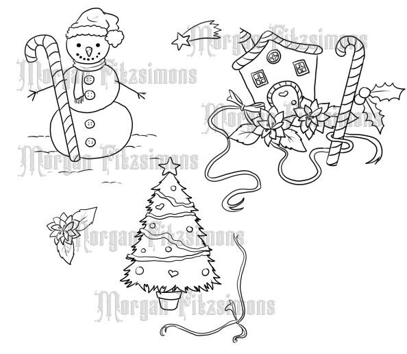 Winter Bundle - Digital Stamp