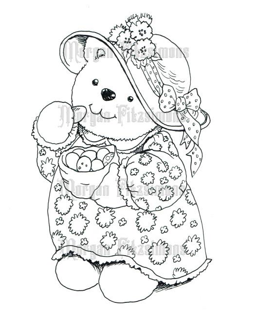 Teddy 5 - Digital Stamp