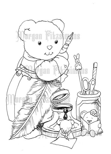 Teddy 4 - Digital Stamp