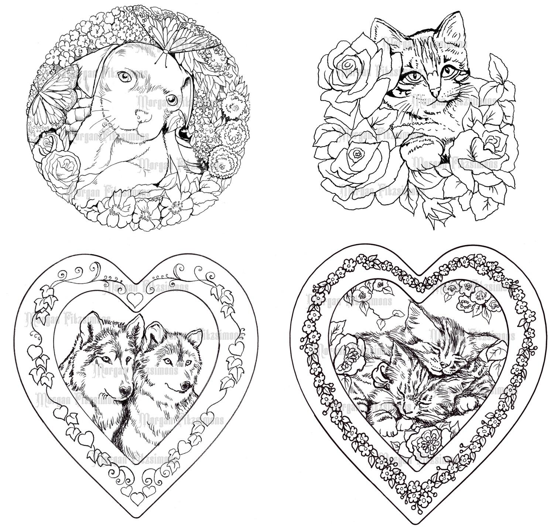 Animal Bundle - Digital Stamps
