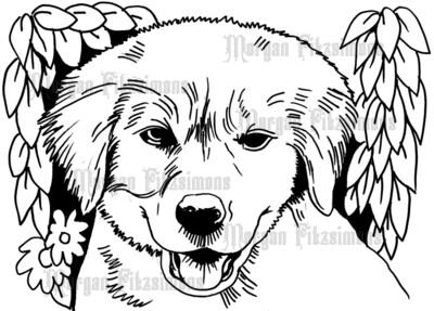 Puppy - Digital Stamp