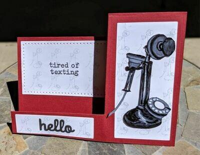 Vintage Phones/Microphone - Digital Stamps