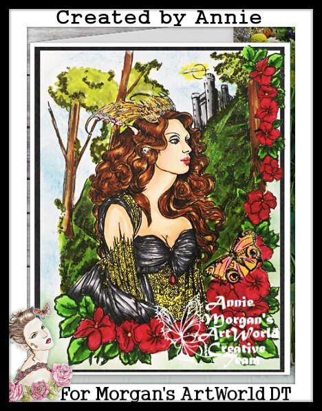 Fantasy Fae 54 - Digital Stamp