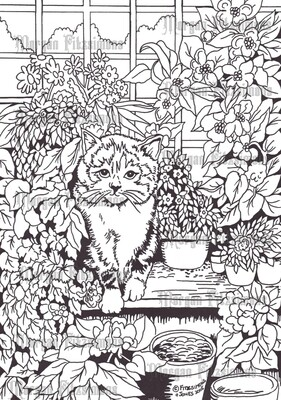 Cats 3 - Digital Stamp