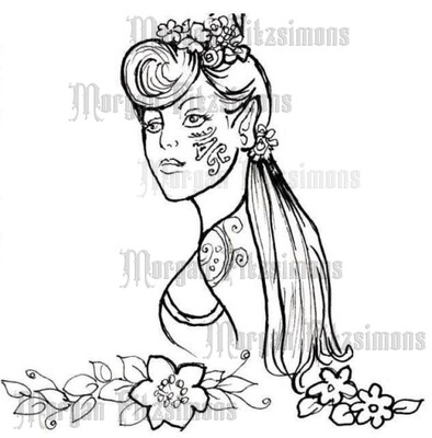 Fairy 1 - Digital Stamp
