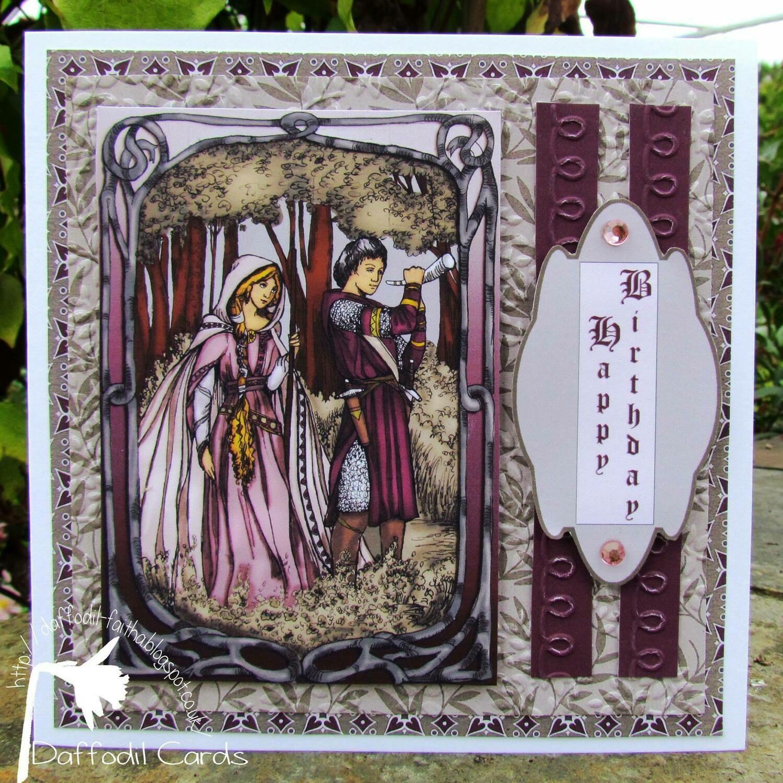 Gerient And Enid - Digital Stamp