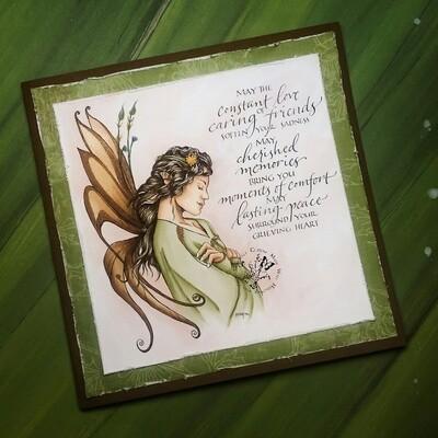 Fantasy Fae 63 - Digital Stamp