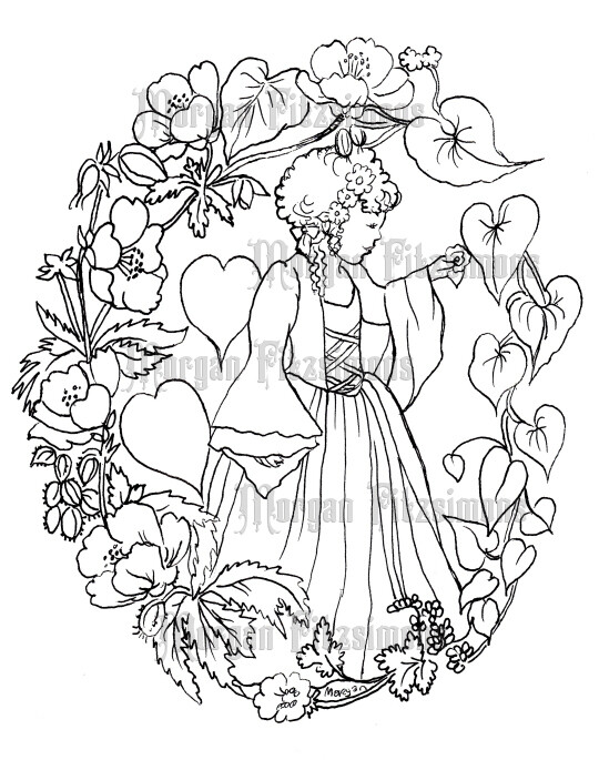 Heart Image 14 - Digital Stamp