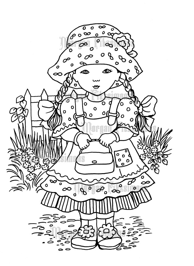 Missie May - Digital Stamp