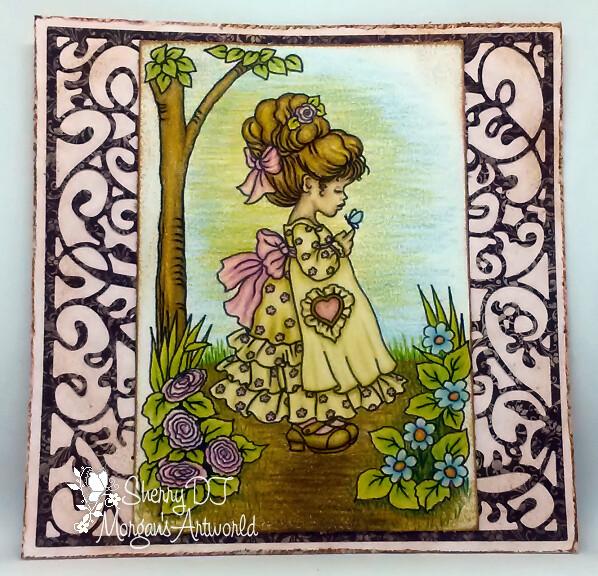 Nora - Digital Stamp