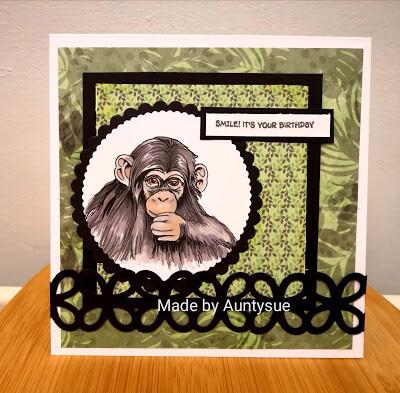 Little Chimp - Digital Stamp