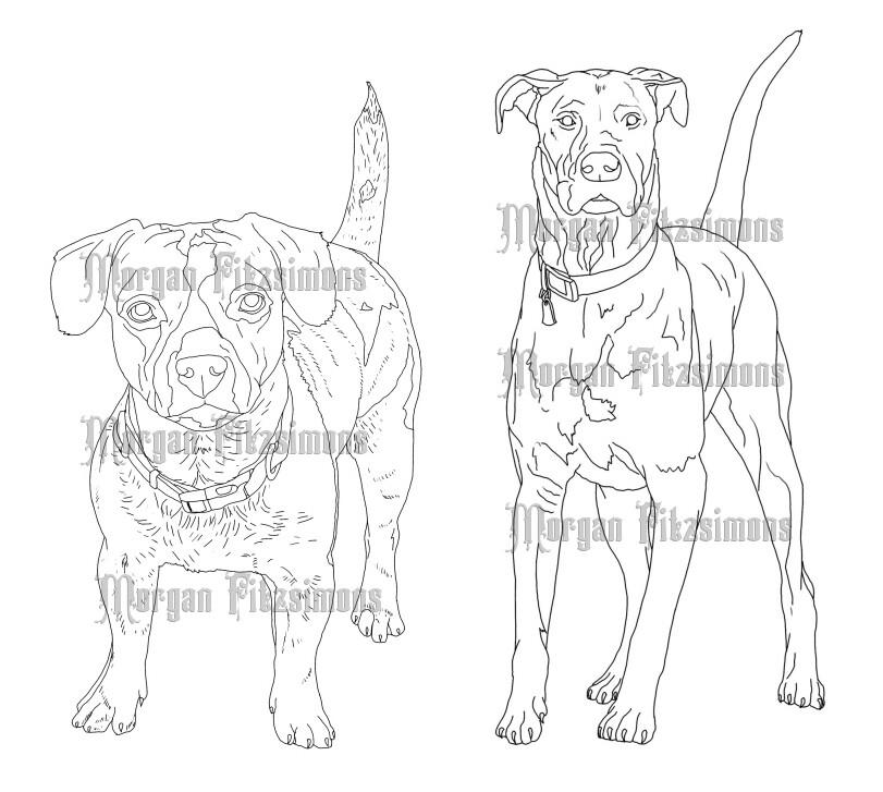 Dogs Bundle - Digital Stamp