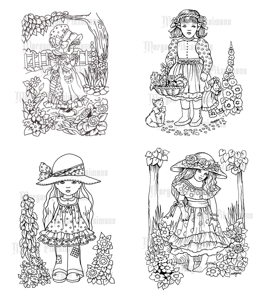 Children Set 2 - Digital Stamps