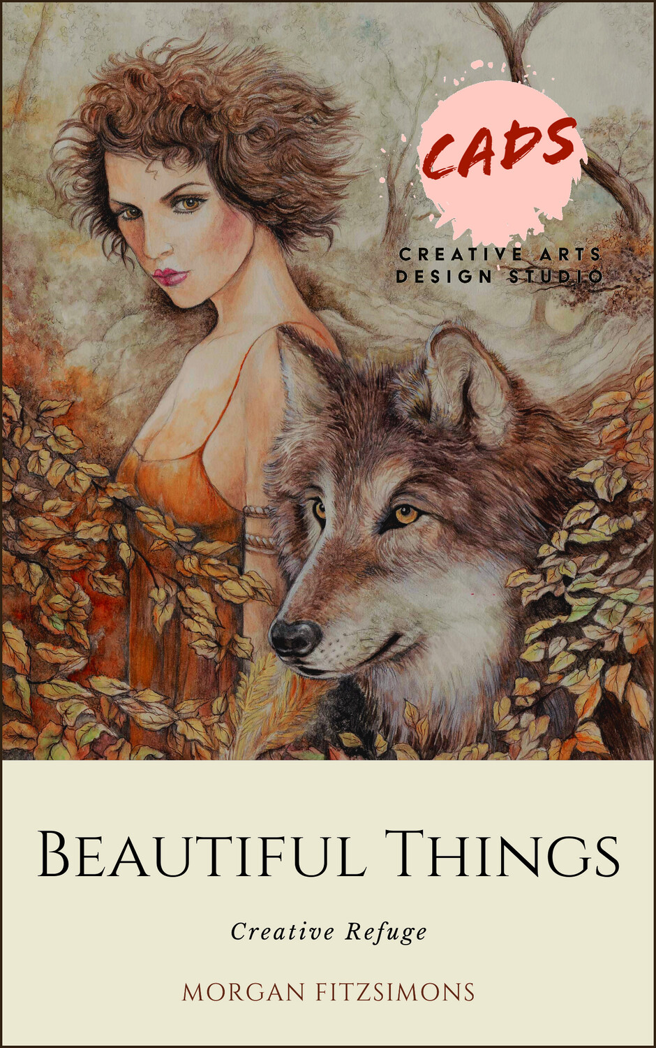 Creative Refuge Beautiful Things - Colouring Book