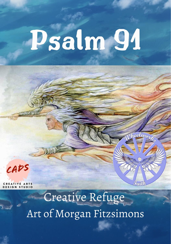 Creative Refuge Psalm 91 - Colouring Book