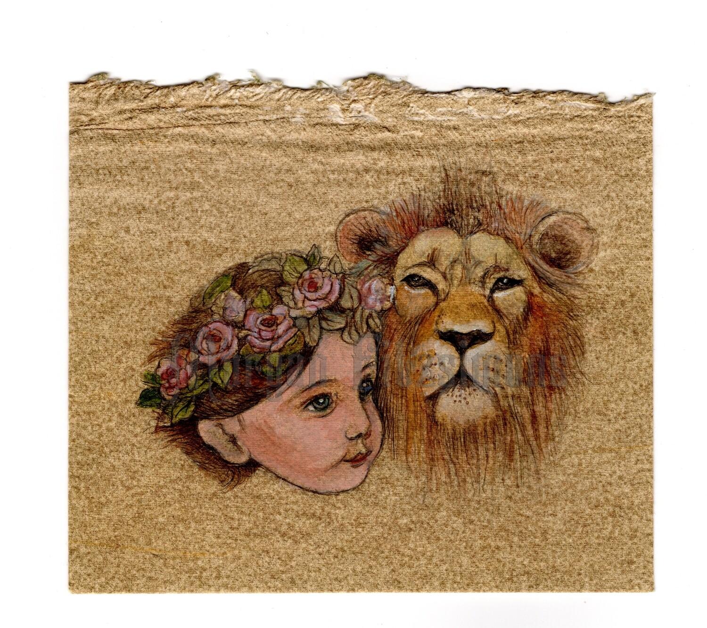Child & The Lion of Judah WF