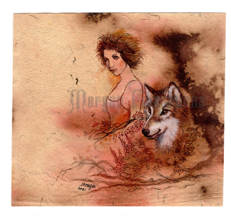 Go Wild Imagine Collection: Spirit of the Wolf