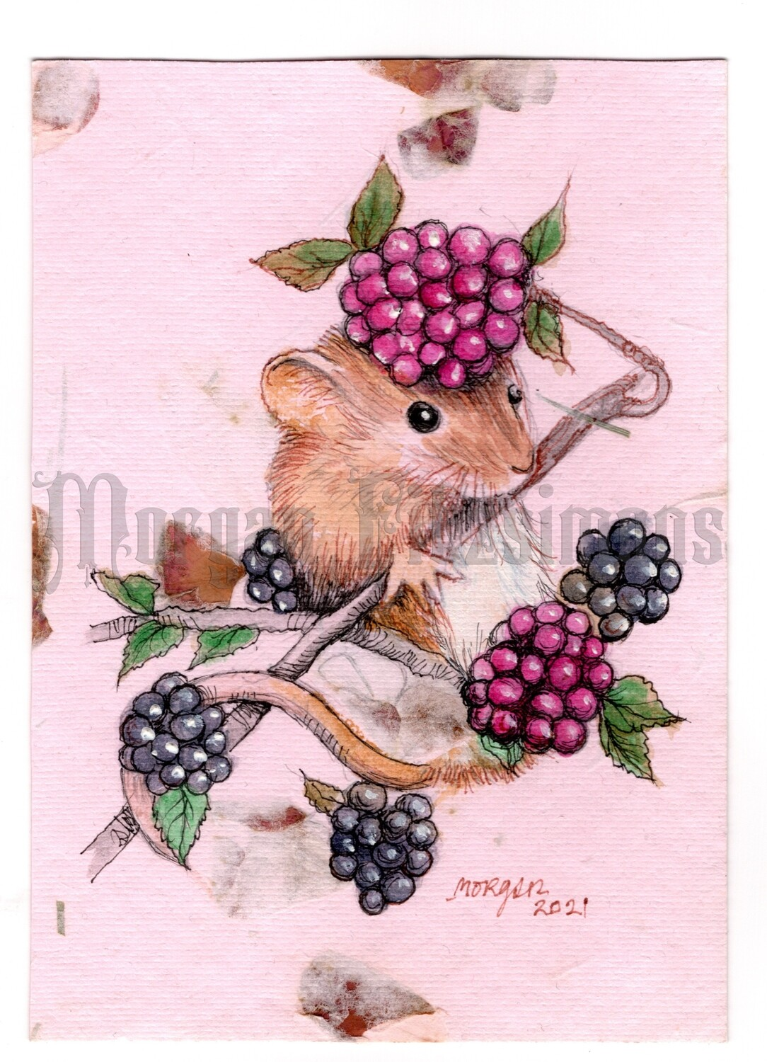 Go Wild Collection: Mouse on Berries