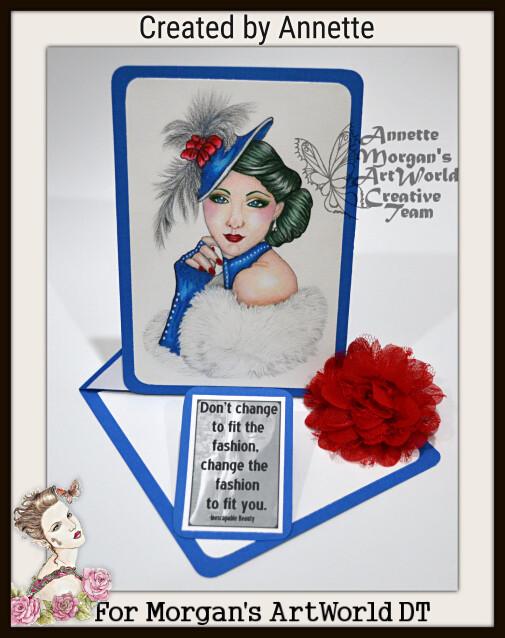 Vintage Cameo - Digital Stamp
