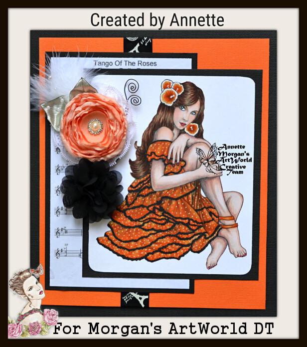 Flamenco 2 Greyscale - Digital Stamp