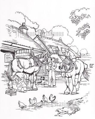 The Blacksmith Shop - Digital Stamp