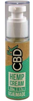 CBDfx Hemp Cream