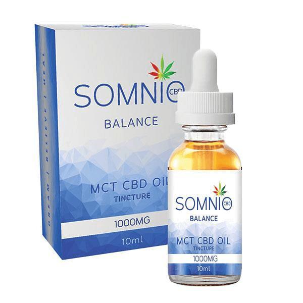 Somnio CBD Tincture (MCT Oil) 10ml