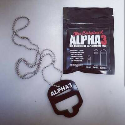 Alpha3 Vape Bottle Opener
