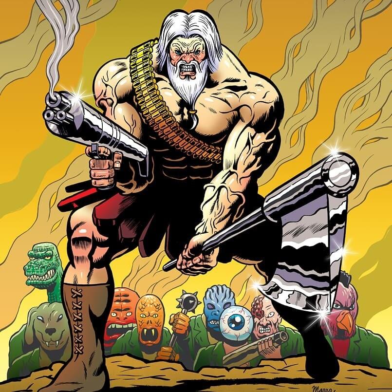 ATOMIC HERCULES #2 (Ben Marra Cover)