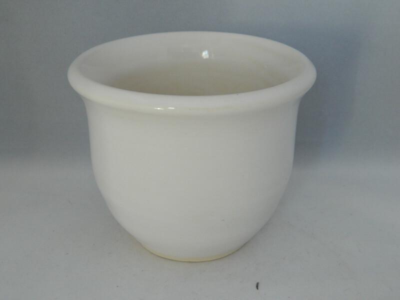 """White Glazed Porcelain 3.25"""" Piece 190"""