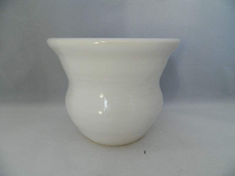 White Glaze On Porcelain 4x5w Piece #192