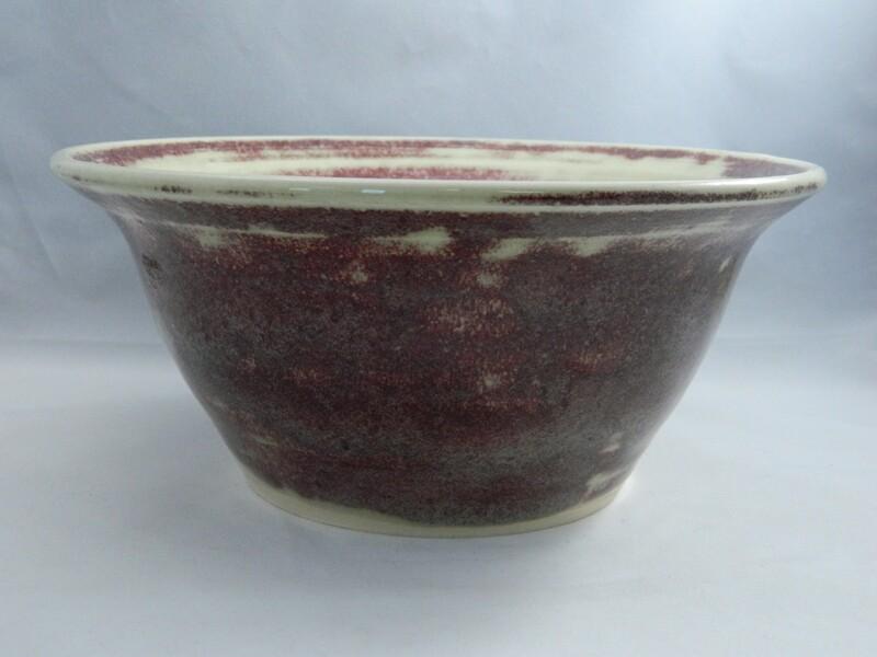 Red Lace Porcelain Serving Dish 8.5x4 Piece #138