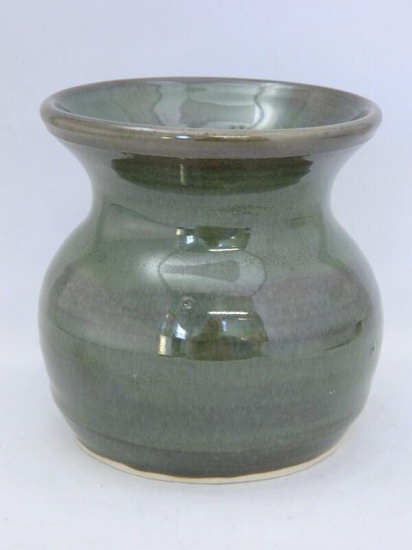 Sea Green Vase 3.4h Piece #128