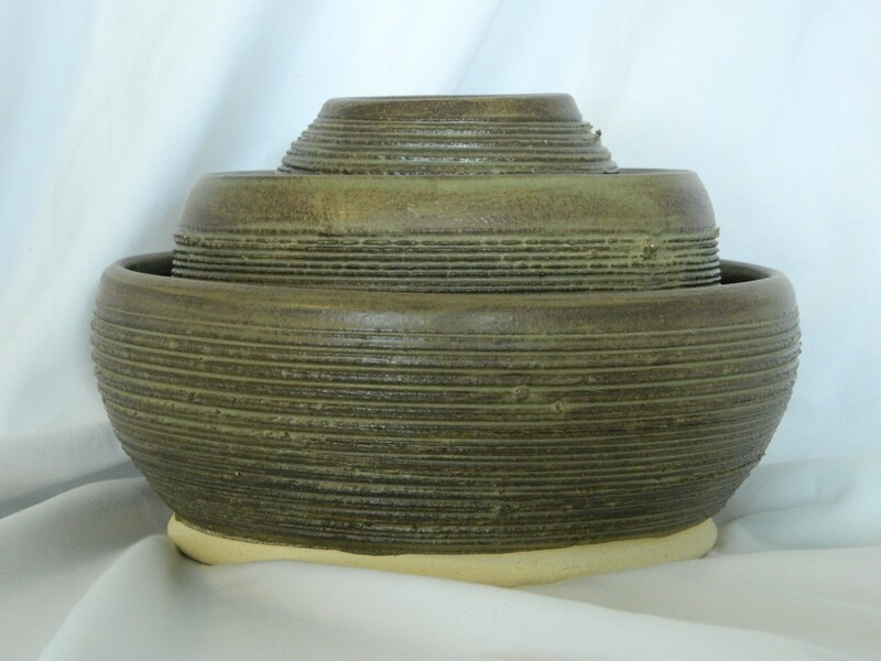 Rusty Rustic 3 pc Stoneware