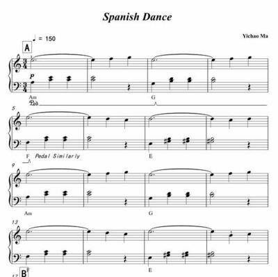"""Spanish Dance"" by Yichao Ma"