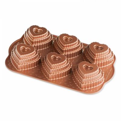 Nordic Ware bakvorm Heart Cakelet Pan