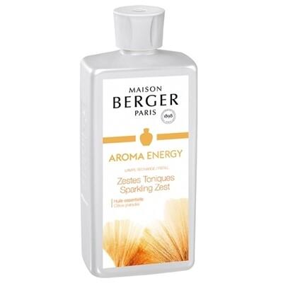 Lampe Berger Aroma Energy Zestes Tonique 500 ml