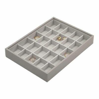 Stackers juwelenlade classic 25 secties taupe