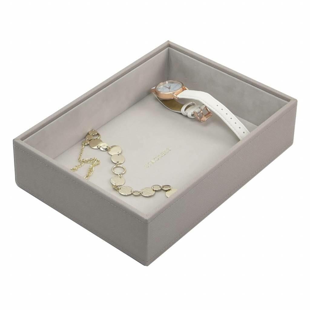 Stackers juwelenlade classic diep 1 vak taupe