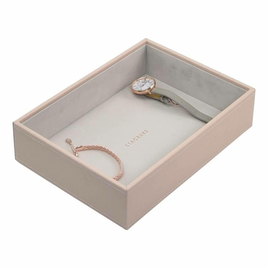 Stackers juwelenlade classic diep 1 vak blush