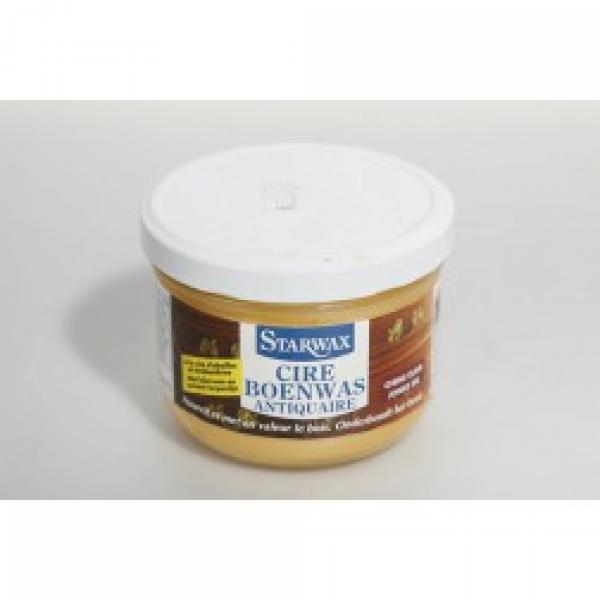 Starwax Boenwas antiquaire geboend hout (lichte eik)  375 ml
