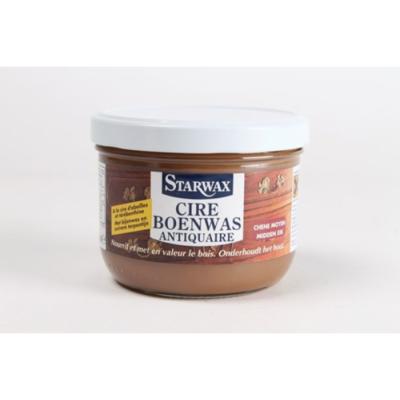 Starwax Boenwas antiquaire geboend hout (midden eik) 375 ml