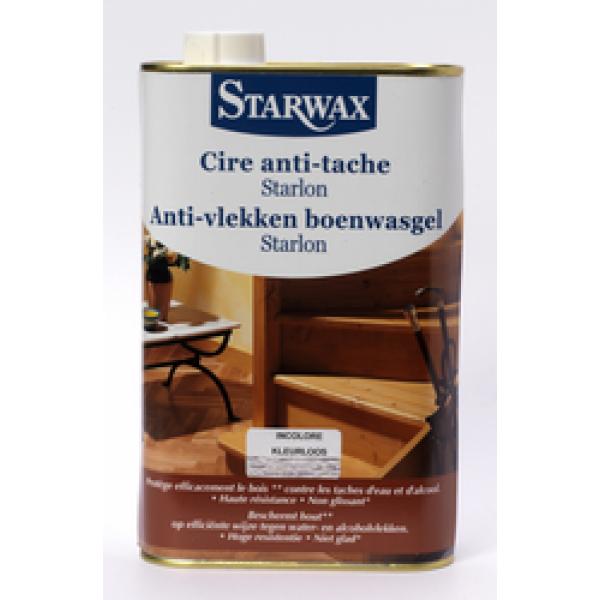 Starwax Anti-vlekken boenwasgel Starlon geboend parket (licht hout) 1 L