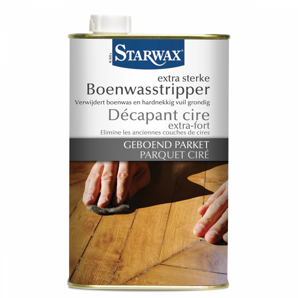Starwax Extra sterke Boenwasstripper Geboend Parket 1 L