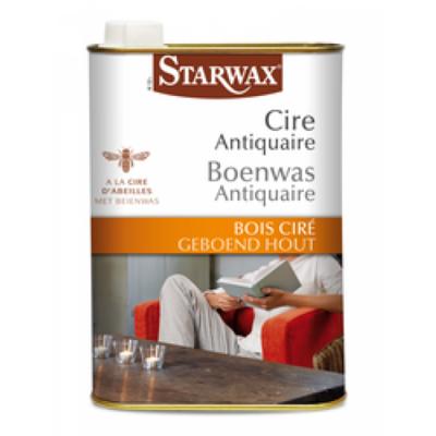 Starwax Boenwas antiquaire geboend hout (naturel) 500 ml