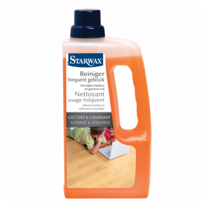 Starwax Reiniger frequent gebruik gecoat & laminaat 1 L