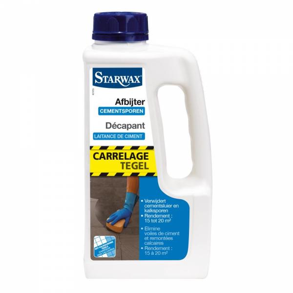 Starwax Afbijter cementsporen tegels 1 L