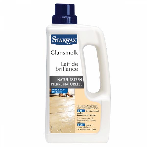 Starwax Glansmelk voor marmer en natuursteen 1 L