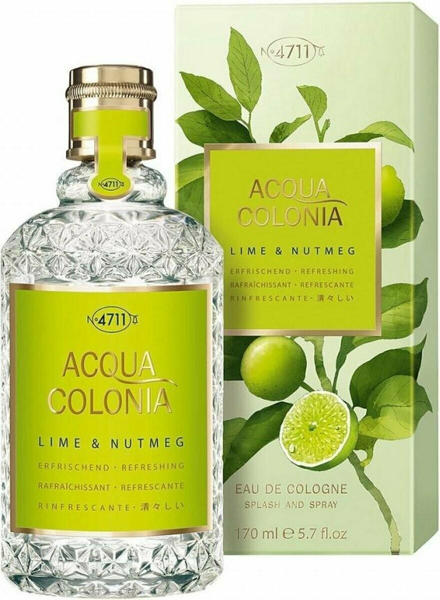 4711 Aqua Colonia Lime & Nutmeg 50 ml